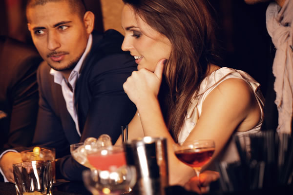 Dating in a Bar