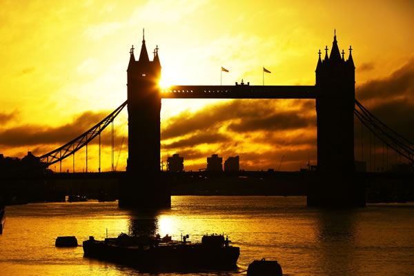 Tower of London at Sunrise